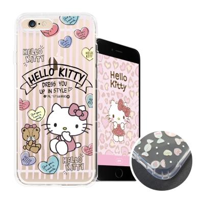 HELLO KITTY iPhone 6s Plus 5.5吋 氣墊空壓殼(愛心...