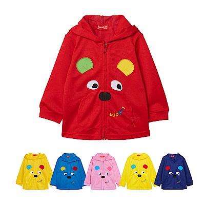 WHY AND 1/2 普普熊吸濕排汗外套 5Y-10Y 多色可選