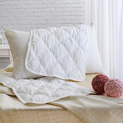 LooCa 天然防蹣防蚊枕用保潔墊 2入