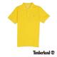 Timberland 男款黃色素面刺繡短袖P
