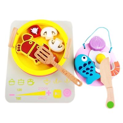 木頭玩具 木質家家酒 火鍋切切樂 15047(3Y+)
