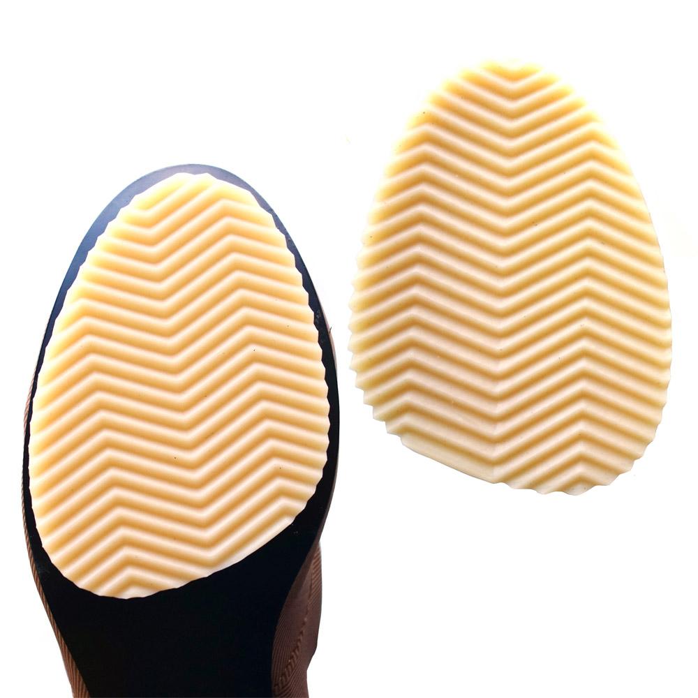 足的美形  台灣製加厚3mm鞋底防滑貼 棕(1雙)