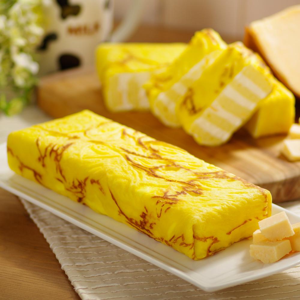 艾葛蛋捲狂人 鮮乳起司金磚蛋糕 (二片裝)
