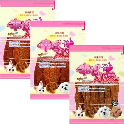 幸福滋味《雞肉》寵物零食系列-150g*4包