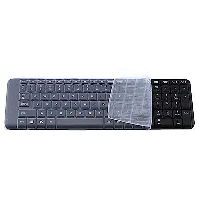 EZstick 羅技 Logitech MK220 MK215 MK230 高級矽膠鍵盤膜