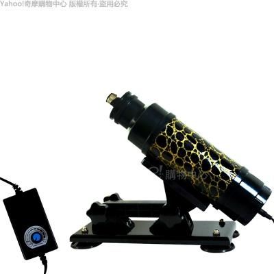 香港Venus無敵大砲台 女用+同志用 伸縮抽插 性愛砲機 附仿真陽具棒x2(吸盤固定款)