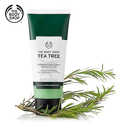 The Body Shop 茶樹淨膚淨化磨砂膏-100ML