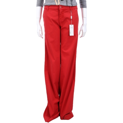 PHILOSOPHY 紅色直筒長褲