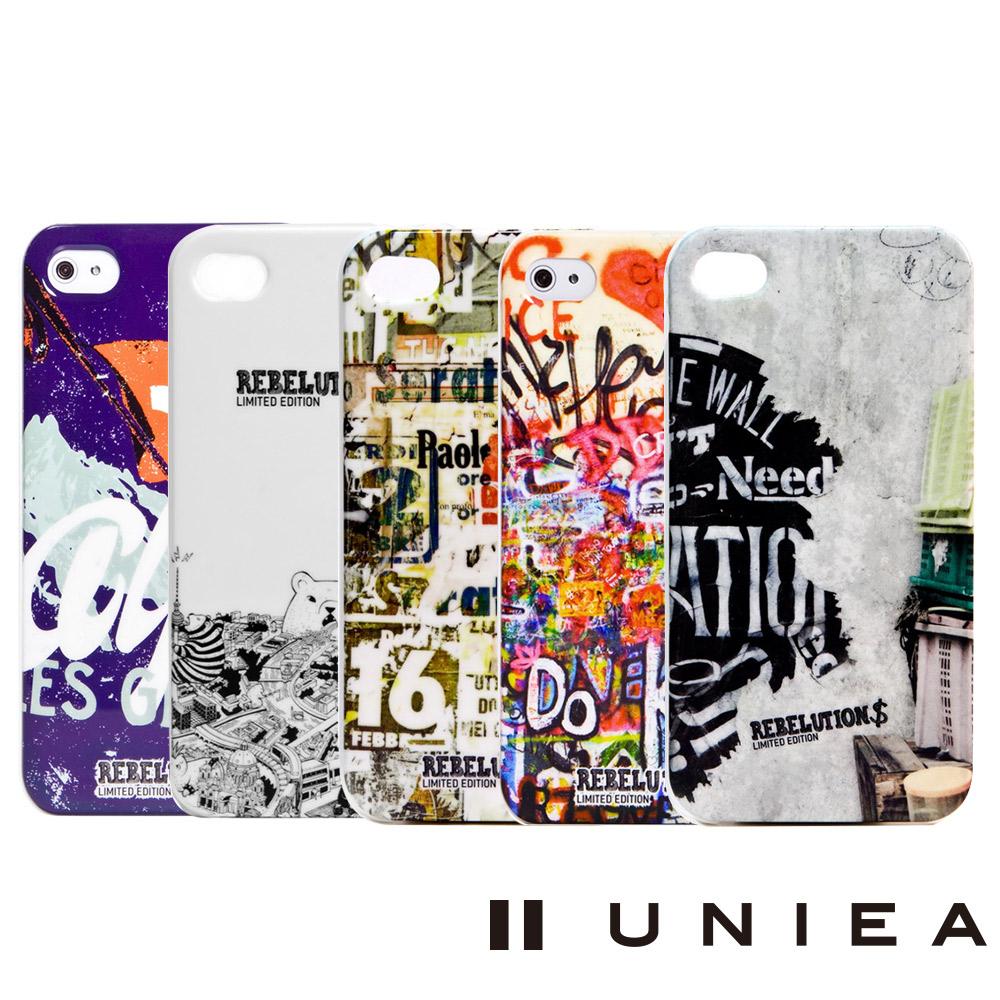 UNIEA 異想系列Apple iPhone 4/4S 抗刮保護殼