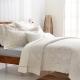 Cozy inn 民謠 雙人四件組 300織精梳棉兩用被床包組 product thumbnail 1