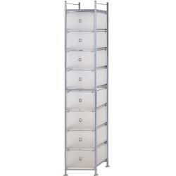 巴塞隆納-八層收納寶盒置物架衣櫥櫃