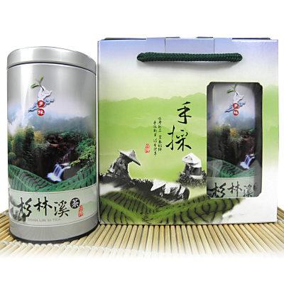 醒茶莊-輕焙杉林溪手採高山茶禮盒300g-2組
