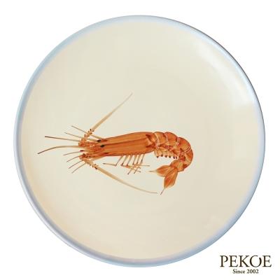 PEKOE飲食器 赤蝦大盤(26cm)