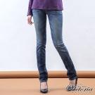 Victoria Victoria小直筒褲-女-中藍