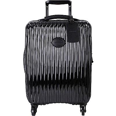 LONGCHAMP Fairval 20吋 魅力黑羽量硬殼行李箱(小)