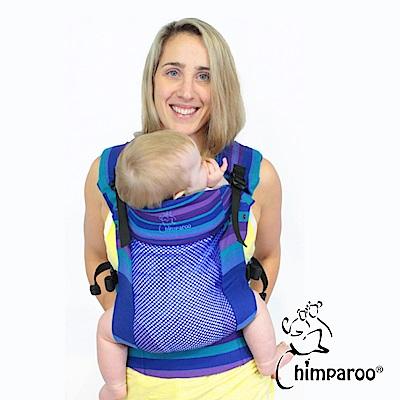 加拿大 Chimparoo Trek Air-O 透氣嬰兒揹帶,蝴蝶藍