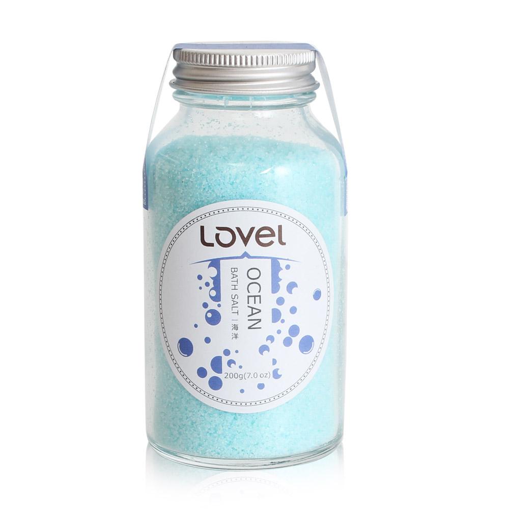 Lovel 天然井鹽/香氛沐浴鹽200g(海洋)