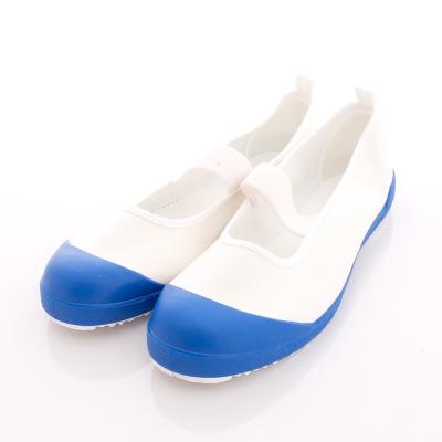 日本月星頂級競速童鞋-抗菌室內鞋-6FCLA5藍(大童段)