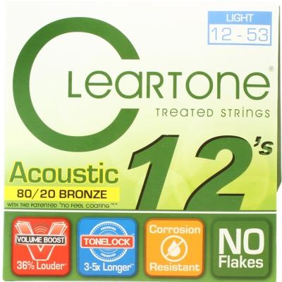 CLEARTONE 7612 黃銅民謠吉他套弦