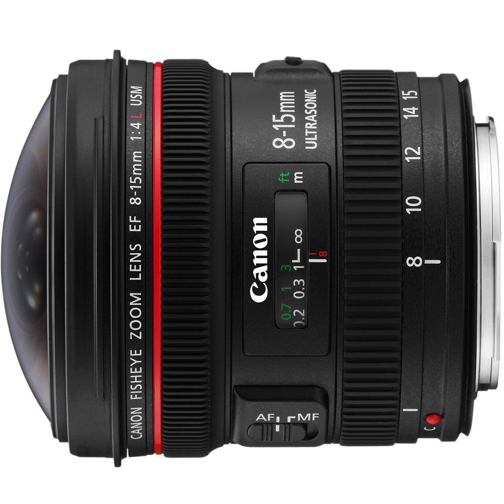 Canon EF 8-15mm f/4L Fisheye USM 魚眼鏡頭 (公司貨)