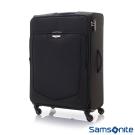 Samsonite新秀麗 28吋Emper簡約可擴充TSA布面行李箱(黑)