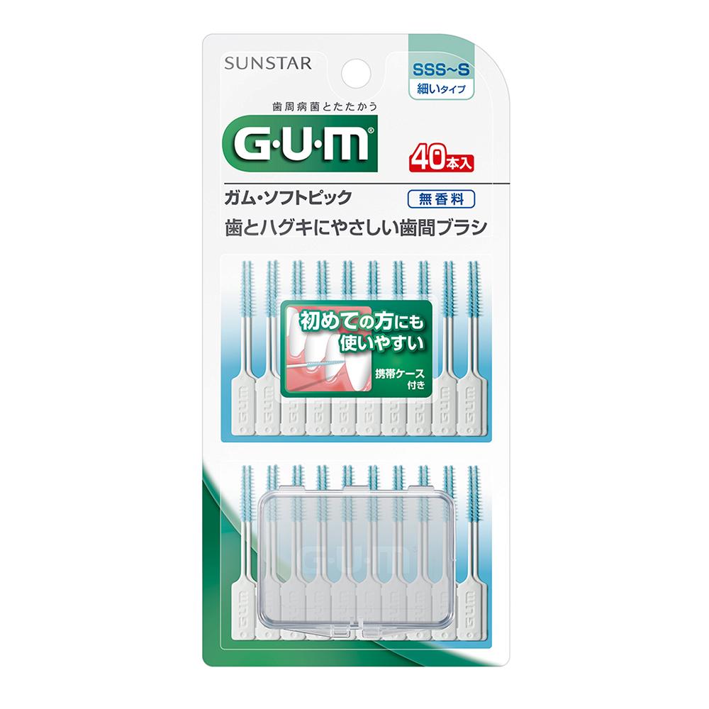 GUM 牙周護理軟式牙間清潔棒 40入