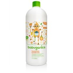 綠潔寶貝餐具清潔慕斯-柑橘味(補充罐) 32oz