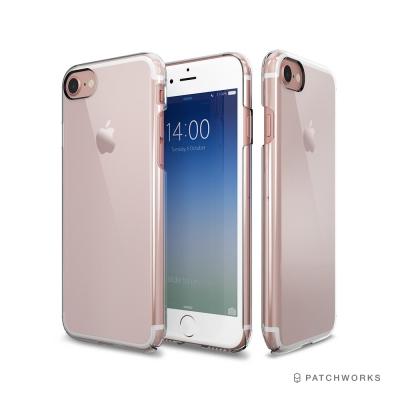 Patchworks iPhone 7/ 8玄武全包覆式透明手機硬殼