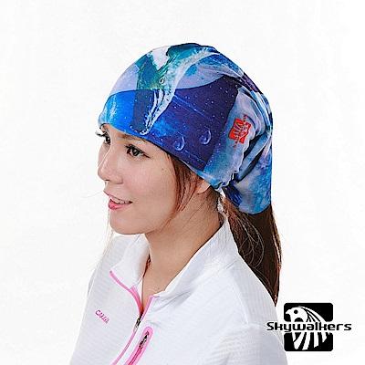 Skywalkers《星空藍鯨》魔術頭巾