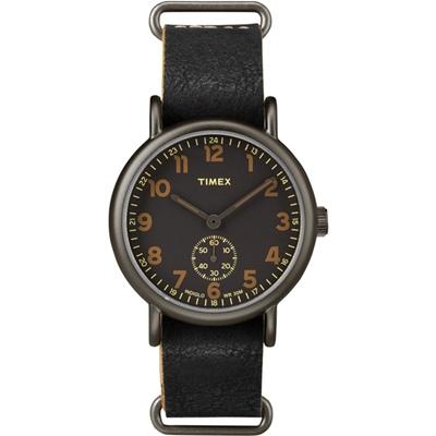 TIMEX 天美時Weekender Chrono系列手錶-黑x黑/40mm