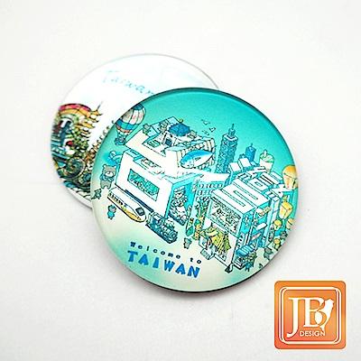 JB DESIGN-文創玻璃磁鐵-692_台灣文字