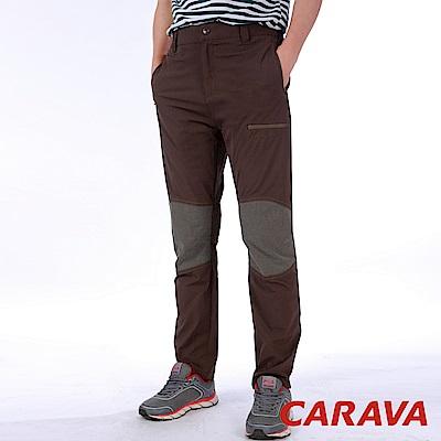 CARAVA《男彈力登山攀岩褲》(咖啡)