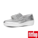 FitFlop TM-TASSEL SUPERSKATE TM LEATHER-銀