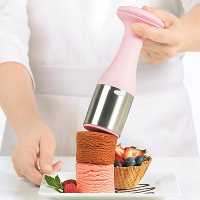 《CUISIPRO》好堆疊冰淇淋挖杓(粉紅)