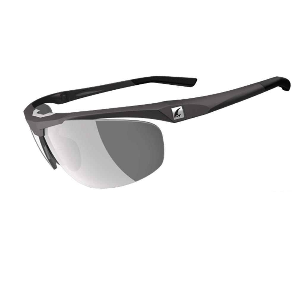 【ADHOC】運動太陽眼鏡-偏光變色灰片-半框式 M.STONE