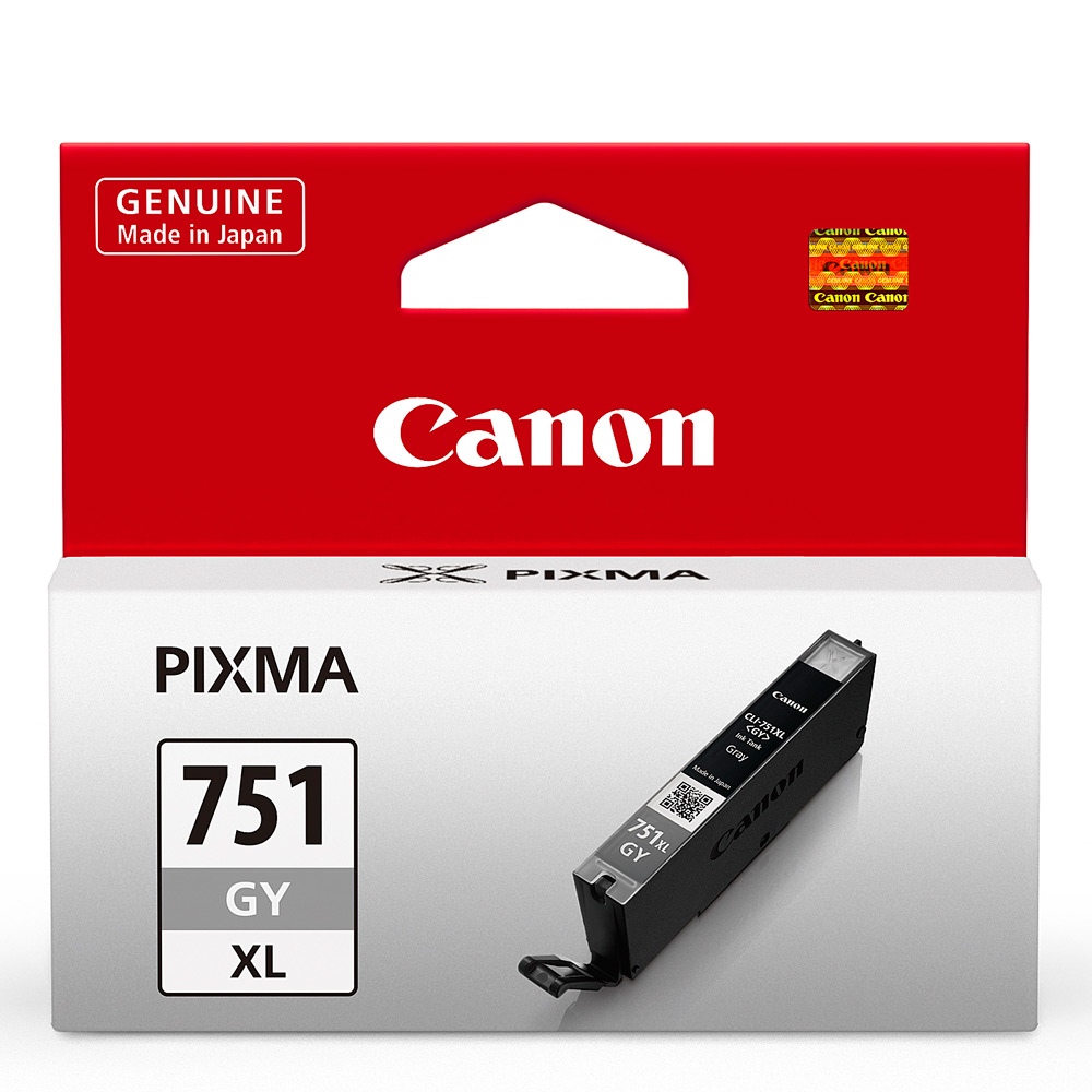 CANON CLI-751XL-GY 原廠灰色高容量XL墨水匣