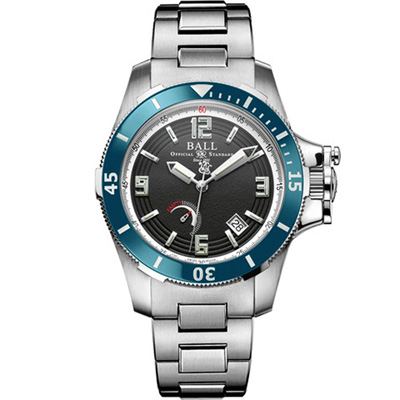 BALL Engineer 天文台認證機械腕錶-黑x藍/42mm