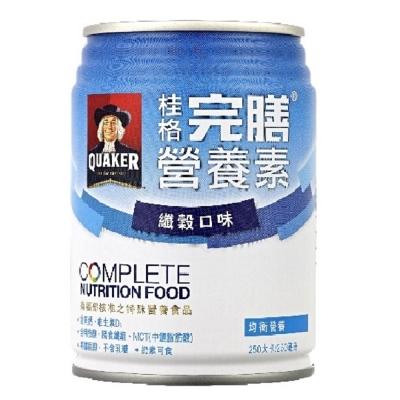 桂格完膳營養素纖穀口味-250ml-24入