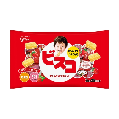 Glico格力高 綜合夾心餅乾家庭號(197.76g)