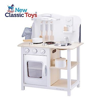 【荷蘭New Classic Toys】優雅小主廚木製廚房玩具 - 11053