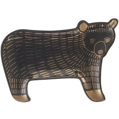 DANICA 飾品收納盤(黑熊)