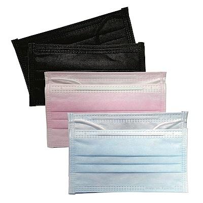 貝斯康 日安美醫用口罩 未滅菌(三色) 6包 共30入