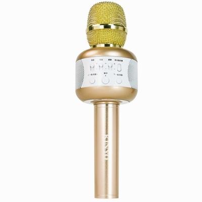 KINYO藍牙行動K歌麥克風BDM-500贈舞台燈