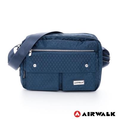 AIRWALK-卡拉司-雙口袋經典系列肩側背包