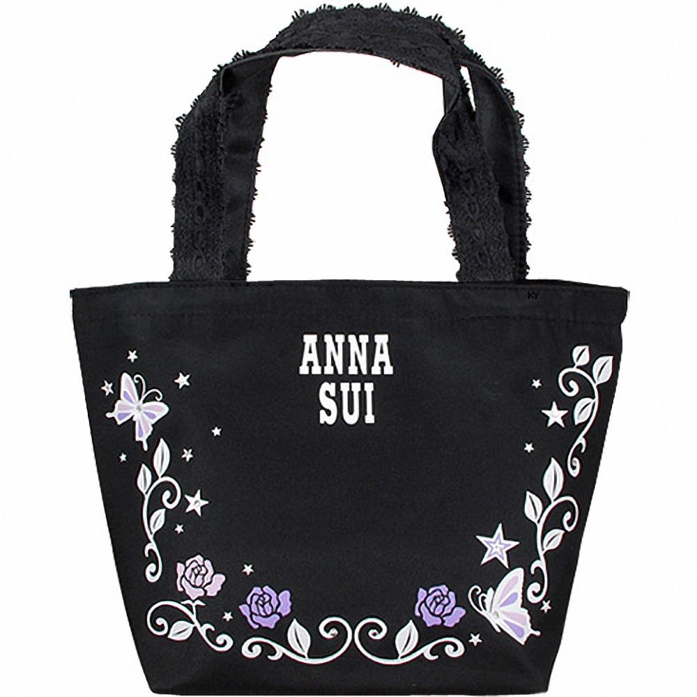 ANNA SUI 安娜蘇 薔薇紫蝶隨身包