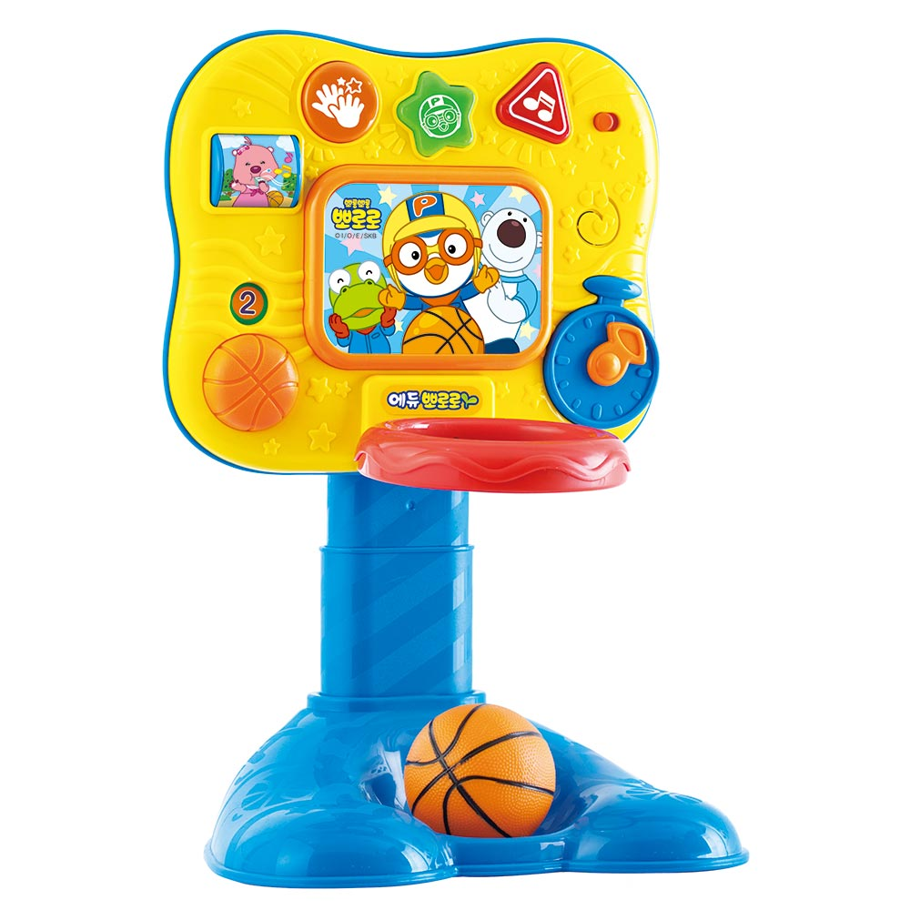 Pororo快樂小企鵝趣味音效籃球機