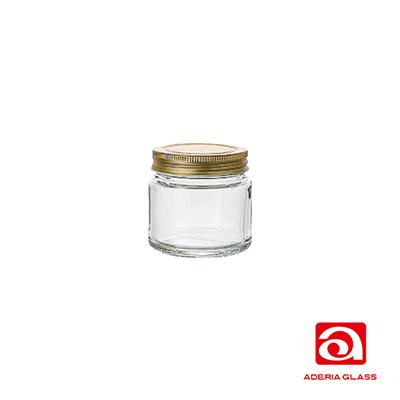 日本ADERIA 廣口玻璃儲物罐150ml (3入)