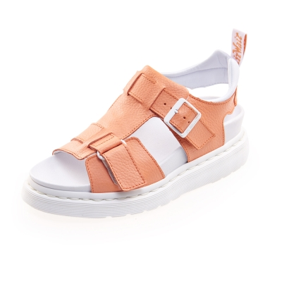 (女) Dr.Martens KAMILAH 寬帶扣環涼鞋*橘色