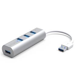 伽利略 USB3.0 4埠 鋁合金 HUB