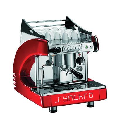 BFC-synchro-星球單孔-110V-營業級咖啡機-紅色款-HG0993